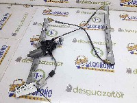 Peugeot 206 (2A/C/H/J/S) Hatchback 1.4 XR,XS,XT,Gentry (TU3JP(KFW)) WINDOW MECHANISM RIGHT FRONT 1998 9222F8 9222F8