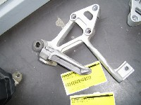 Kawasaki GPX 600 1988-1994 FOOTREST LEFT REAR 1988