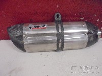 Triumph Speed Triple 1050 2008-2010 (VIN:333179-461331) EXHAUST MUFFLER PERFORMANCE 2008