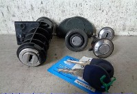 Fiat Seicento (187) Hatchback 1.1 S,SX,Sporting,Hobby,Young (187.A.1000) LOCK SET CYLINDER 2000  CS,LD,RD,AK + 2