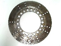 Kawasaki KZ 440 1980-1983 BRAKE DISC LEFT FRONT 1983