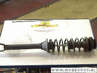 Mazda 121 (JA/JB) Hatchback 1.25i 16V (DHA) STRUT RIGHT REAR 1996