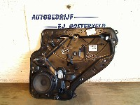 Volkswagen Golf VI (5K1) Hatchback 1.6 TDI 16V (CAYB(Euro 5)) WINDOW MECHANISM RIGHT REAR 2009  5K4839730G